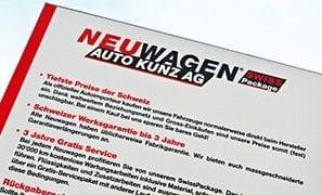 Neuwagen SWISS Package