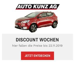 Discount-Wochen - Auto Kunz AG