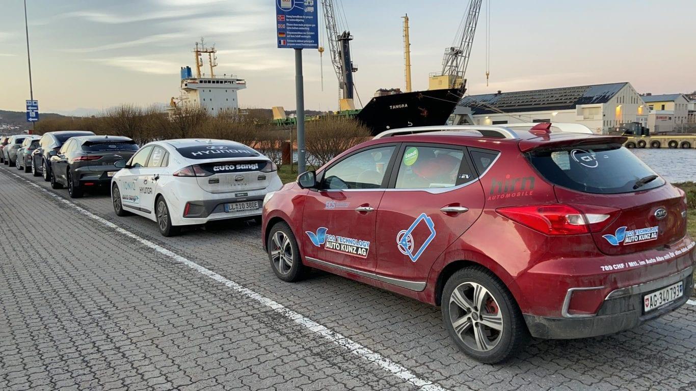 JAC e-S2 im Härtetest - eNordkappChallenge - Auto Kunz AG 12