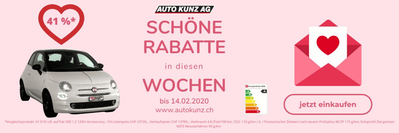 Aktions-Wochen bis 14.2.2020 - Auto Kunz AG