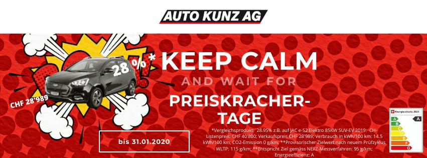 Raus-Verkauf 3 Könige! - Auto Kunz AG 1