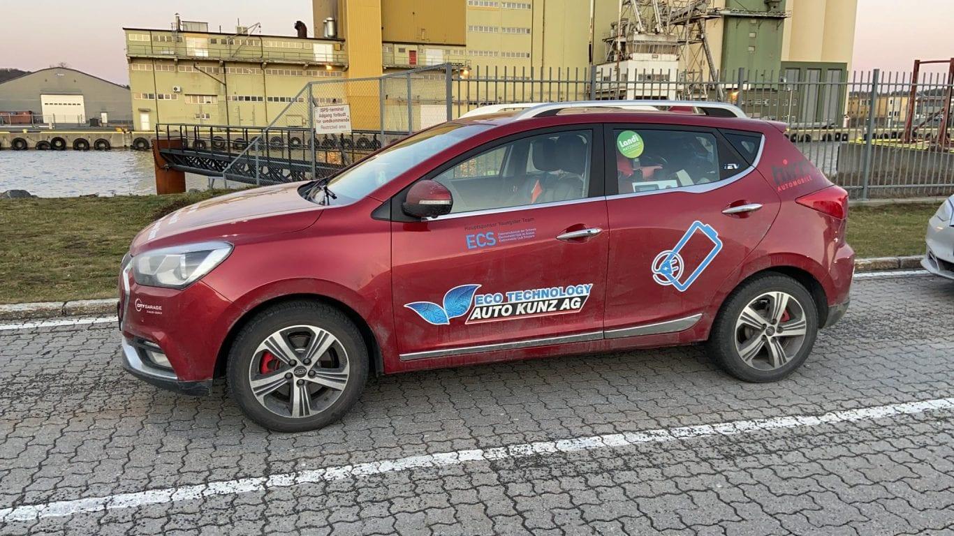 JAC e-S2 im Härtetest - eNordkappChallenge - Auto Kunz AG 14