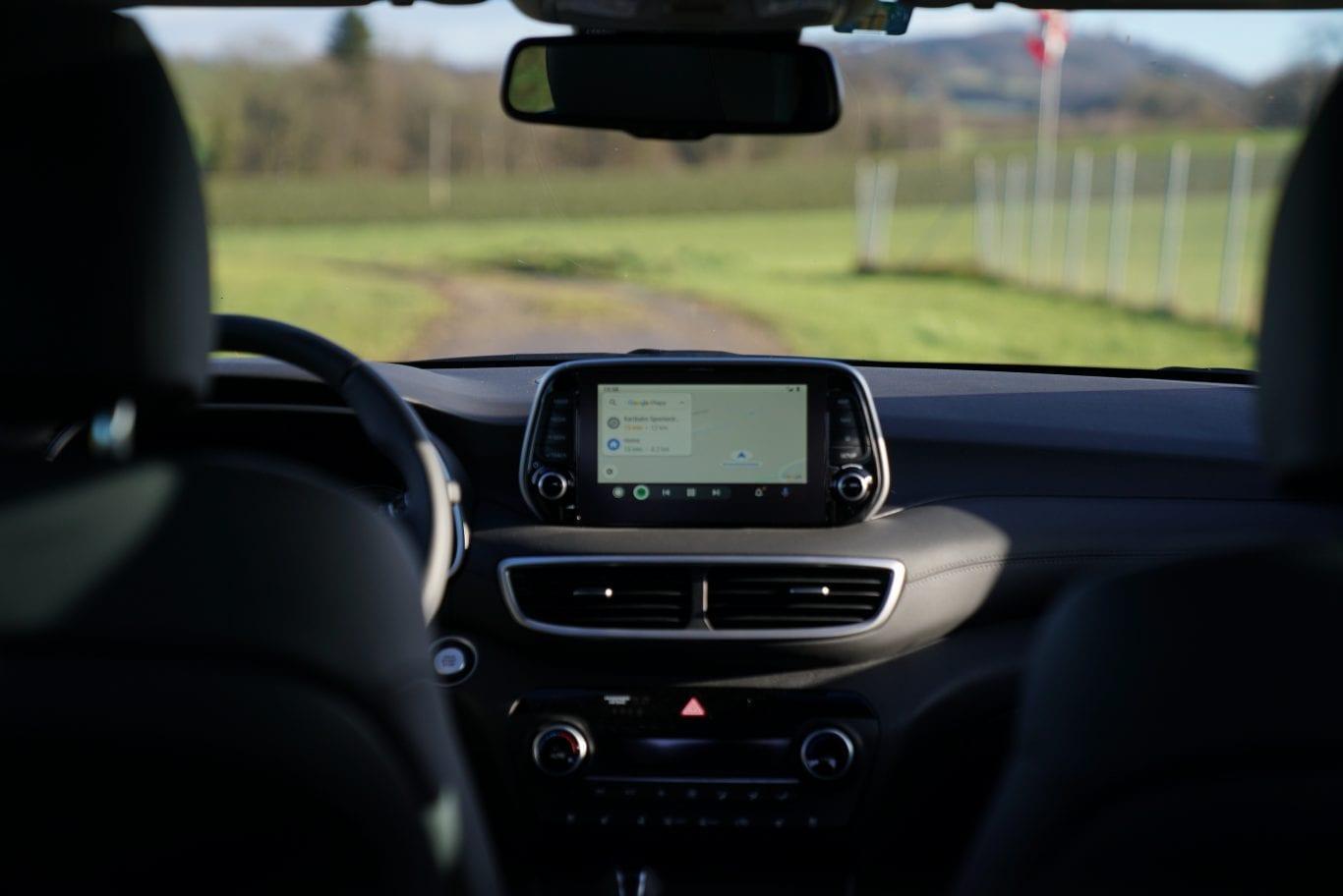 Hyundai Tucson: Hauptmerkmal beheiztes Steuerrad - Auto Kunz AG 1