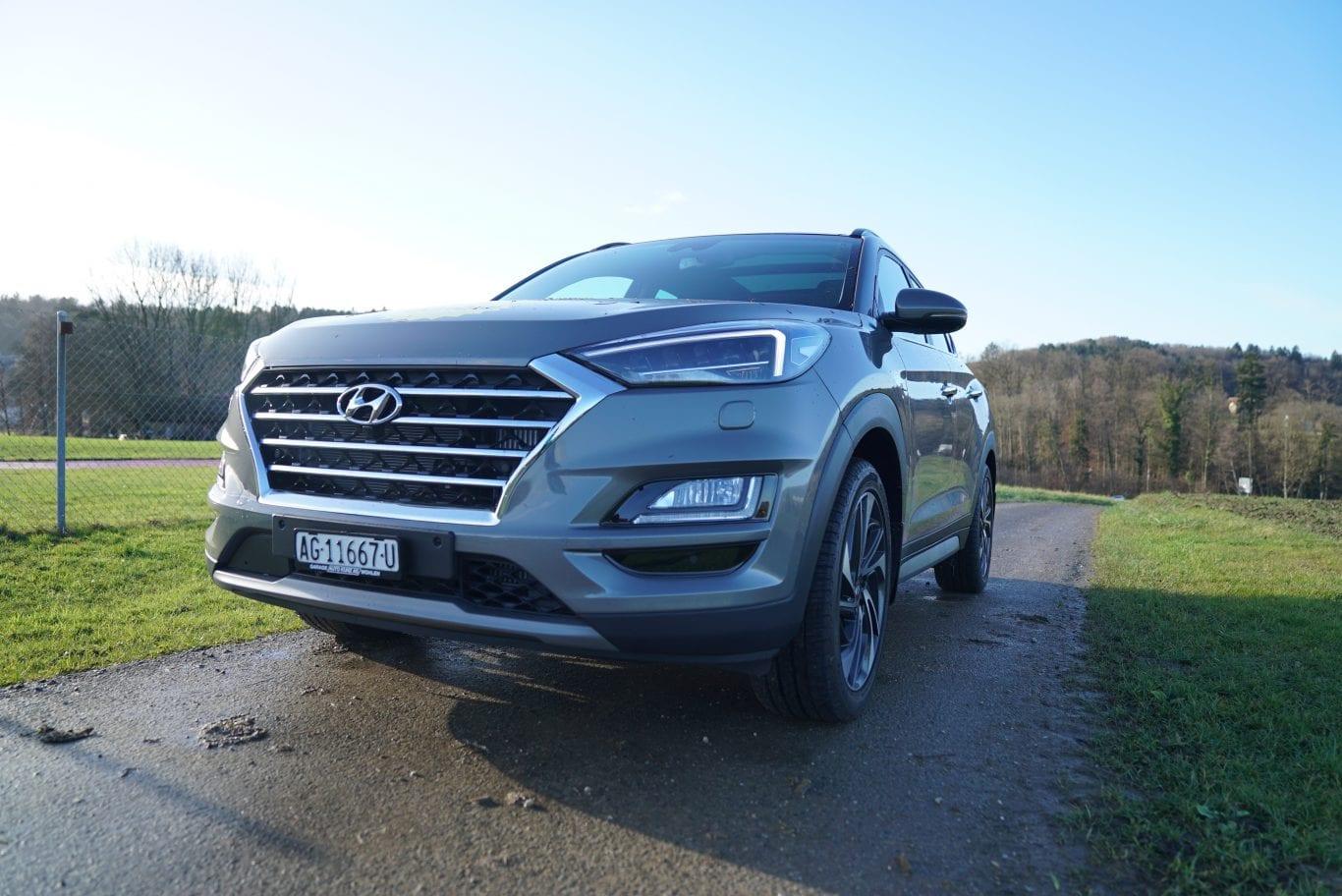 Hyundai Tucson: Hauptmerkmal beheiztes Steuerrad - Auto Kunz AG 3