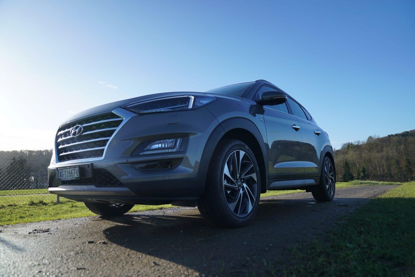 Hyundai Tucson: Hauptmerkmal beheiztes Steuerrad - Auto Kunz AG 5