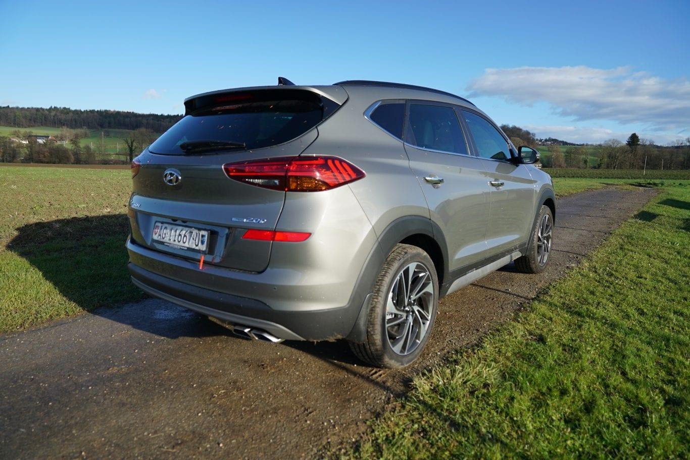 Hyundai Tucson: Hauptmerkmal beheiztes Steuerrad - Auto Kunz AG 11