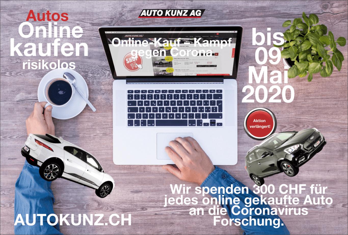 Online-Kauf-Kampf gegen Coronavirus - Auto Kunz AG 3