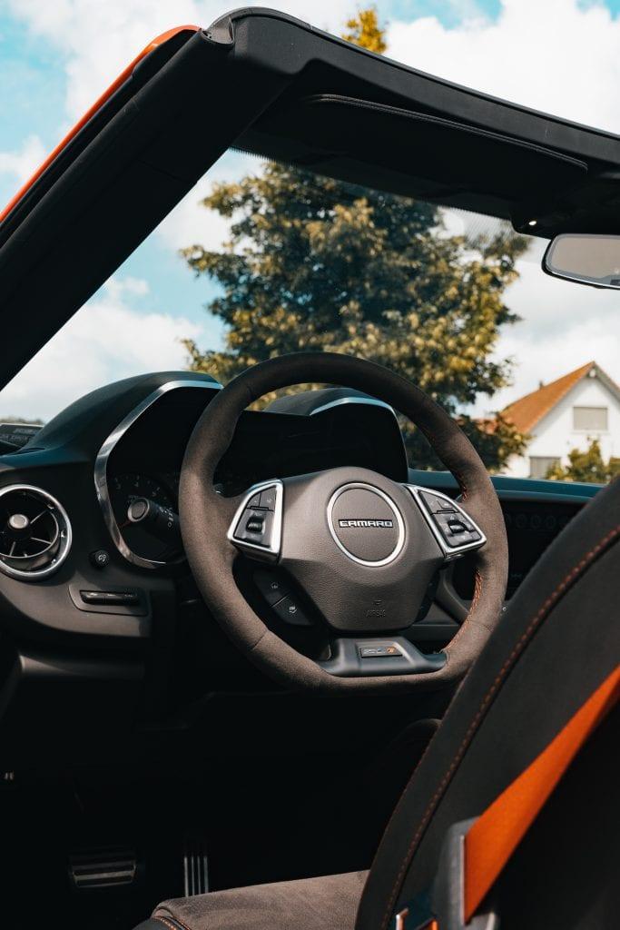 Der Chevrolet Camaro ZL1 und die Zwei-Minuten-Freundschaft - Auto Kunz AG 17