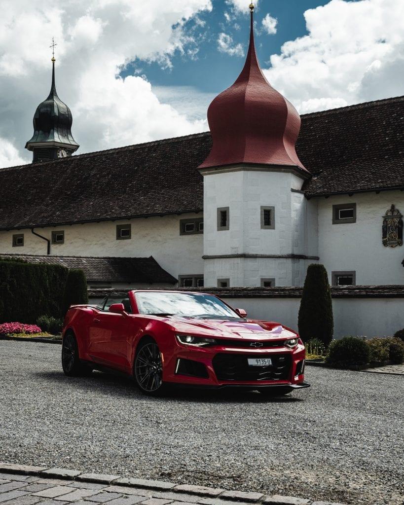 Chevrolet Camaro ZL1 Cabrio: Eine Blockrunde mit dem Ladenhüter - Auto Kunz AG 3