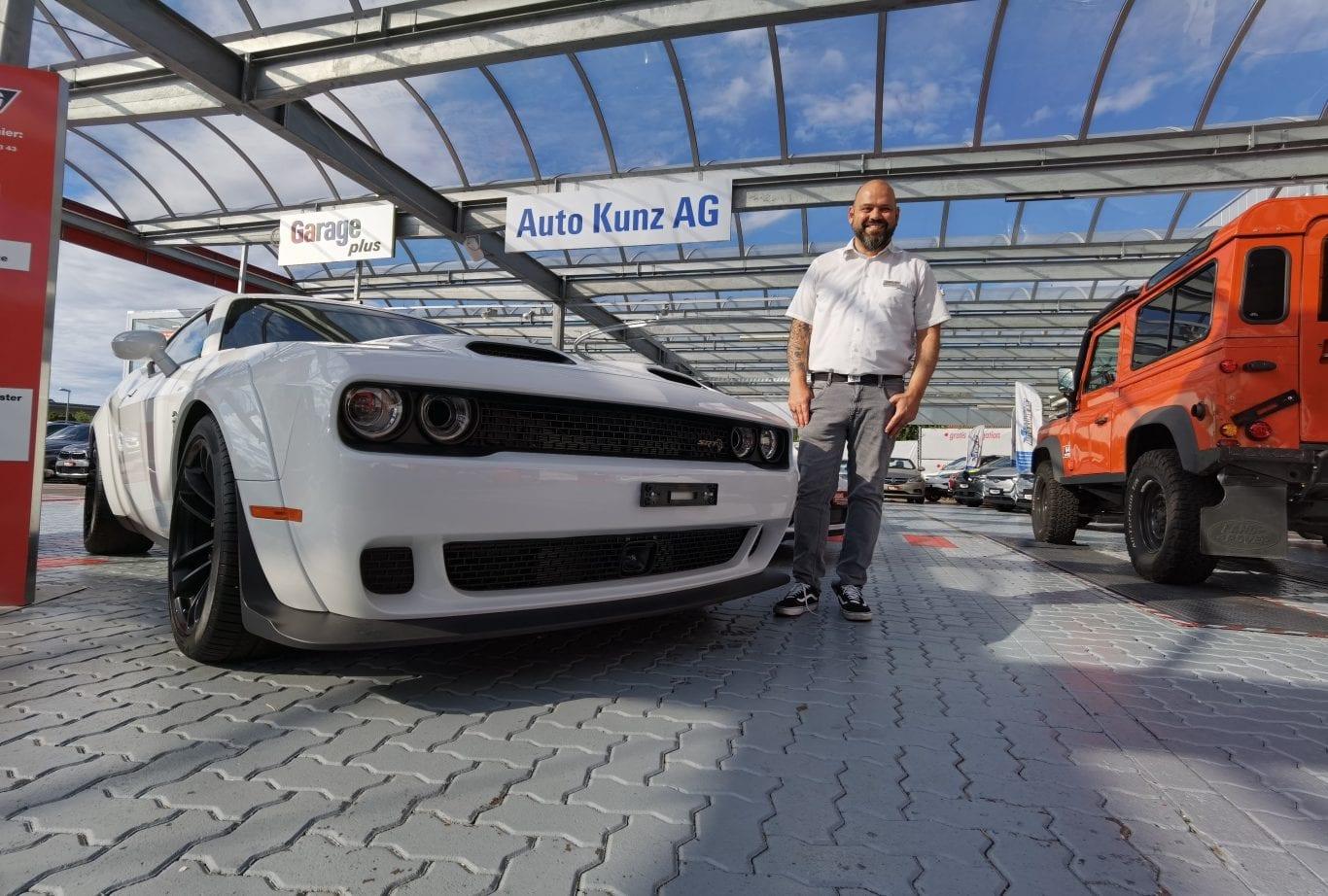 Thomas Stocker: 25 Jahre Auto Kunz… 28, um genau zu sein - Auto Kunz AG 1