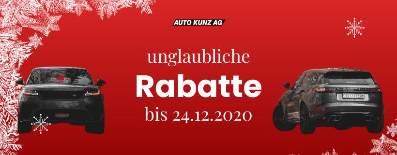 Weihnachtsaktion bis 24.12.2020 - Auto Kunz AG 1