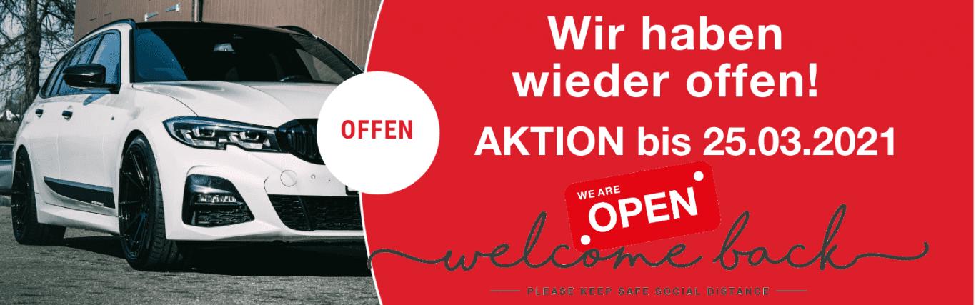 Online Shop Aktion bis 28.02.2021 - Auto Kunz AG