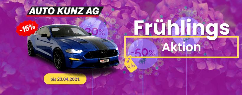Frühlingsaktion bis 23.04.2021 - Auto Kunz AG